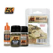 OIF & OEF - US VEHICLES WEATHERING SET<br> AK120